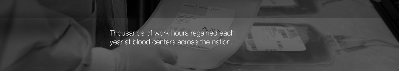 Thousands of work hours regained each year. It really is that simple.